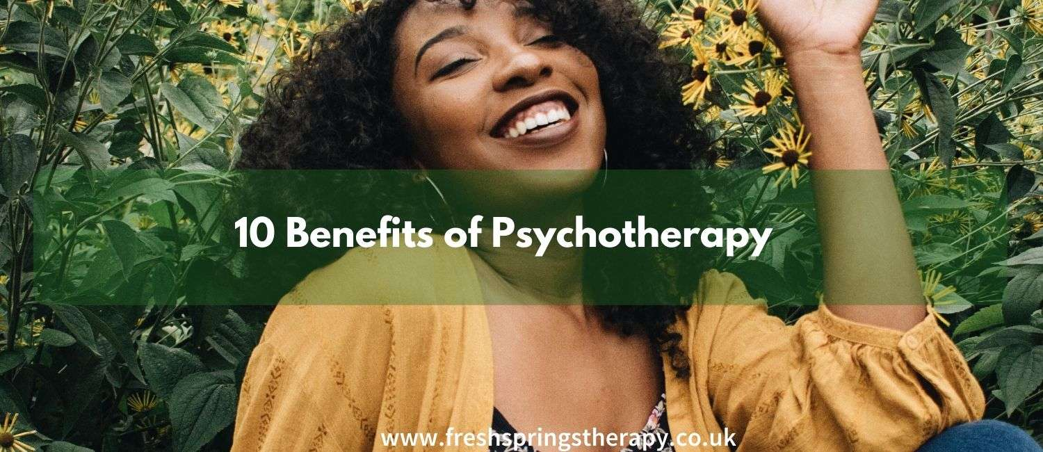 10 Benefits of Psychotherapy