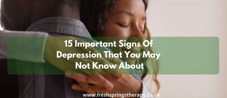 15 Important Signs Of Depression That You May Not Know About