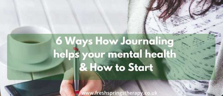 6 Ways How Journaling helps your mental health & How to Start
