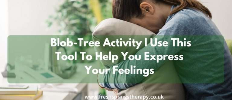 Blob-Tree Activity | Use This Tool To Help You Express Your Feelings