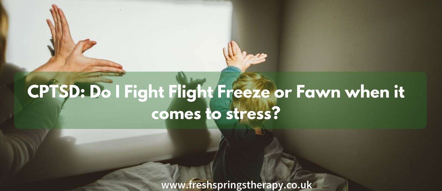 CPTSD: Do I Fight Flight Freeze or Fawn when it comes to stress?