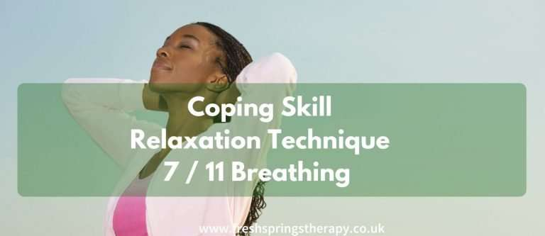 Coping Skill _ Relaxation Technique _ 7 /11 Breathing