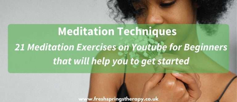 Meditation Techniques | 21 great meditation Exercises on Youtube for Beginners that will help
