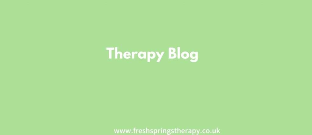 Therapy Blog