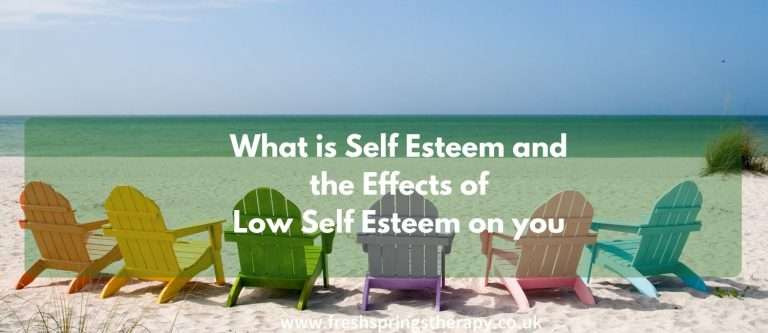 What is Self Esteem and the Effects of Low Self Esteem on you