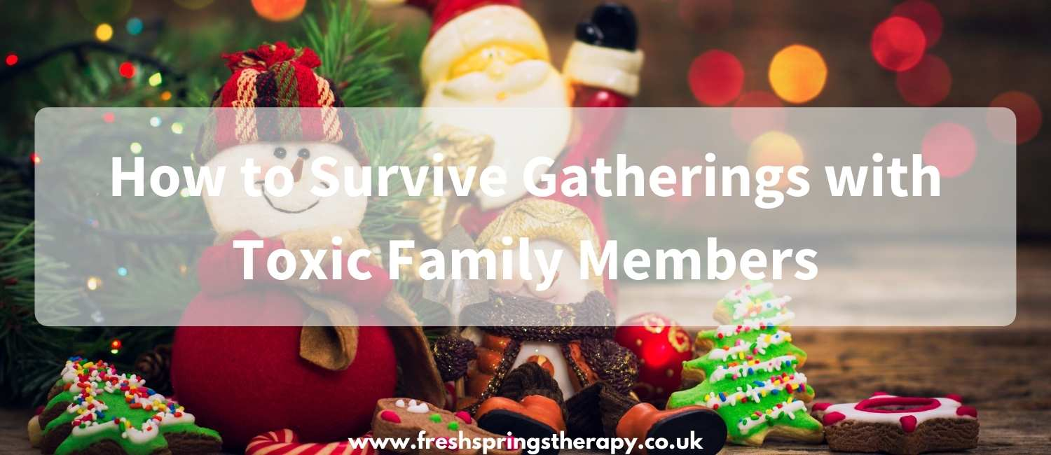 How to Survive Gatherings with Toxic Family Members